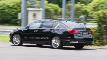 Honda autonomous car - rear