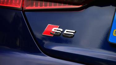 Audi S5 - badge