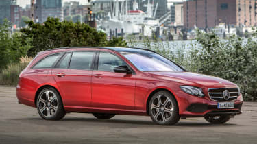 Mercedes E-Class Estate 2016 - front quarter 2
