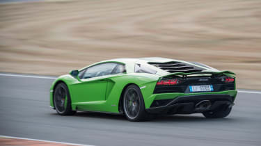 Lamborghini Aventador S - rear/side