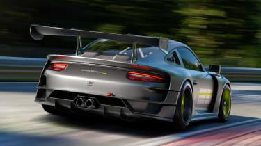Porsche 911 GT2 RS Clubsport 25 - rear tracking
