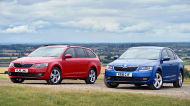 Skoda Octavia SE Sport and SE Technology