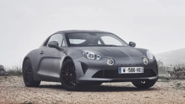 Alpine A110S - front static