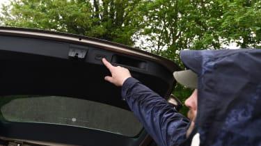 Long-term test review Volkswagen Passat Estate - boot closing