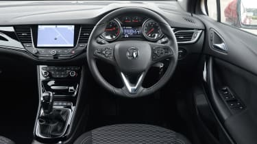 Vauxhall Astra - interior