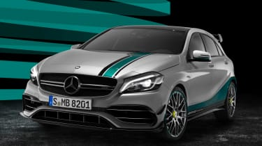 Mercedes-AMG A 45 PETRONAS 2015 World Champion Edition front