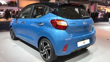 Hyundai i10 - Frankfurt blue rear