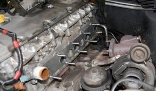 Warped exhaust repair - 1