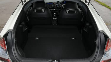 Most owners will keep the rear seats folded which boosts load area to a decent 401 litres.