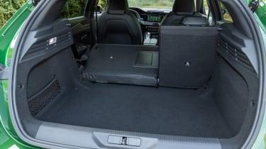 Peugeot 308 - boot seats down