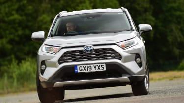Toyota RAV4 - front action
