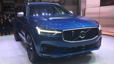 Volvo XC60 Geneva show - front static