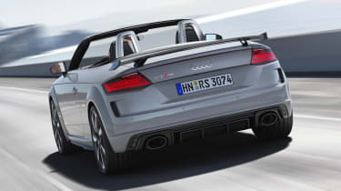 Audi TT RS Roadster - rear