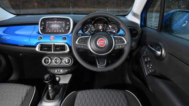 Fiat 500X - dash