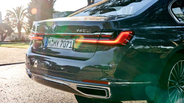 BMW 750i - rear detail