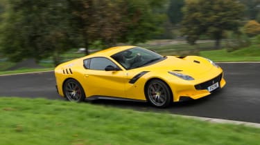 Ferrari F12tdf - side