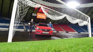 Vauxhall Astra - Hampden Park goal