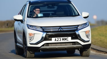 Mitsubishi Eclipse Cross - front cornering