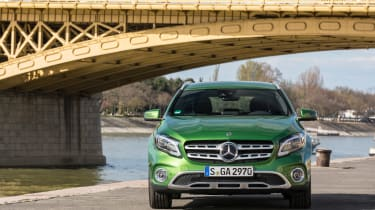 Mercedes GLA 2017 facelift front static