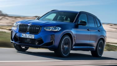 BMW X3 M - front tracking