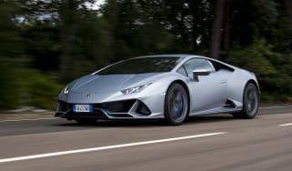 Lamborghini Huracan Evo - front tracking