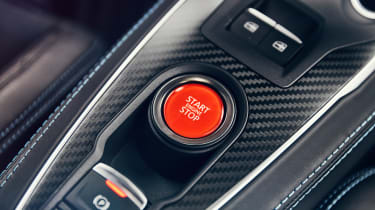 Alpine A110 - on/off button