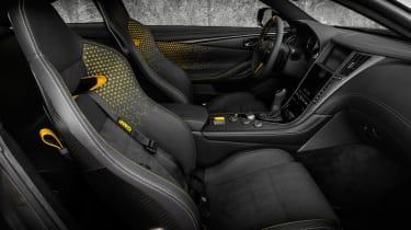 Infiniti Project Black S interior
