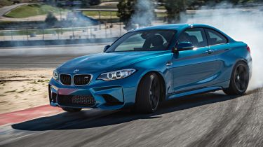 BMW M2 Coupe 2016 - powerslide