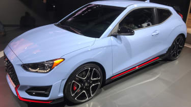 New Hyundai Veloster N - Detroit front