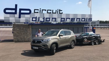 SsangYong Rexton - track day
