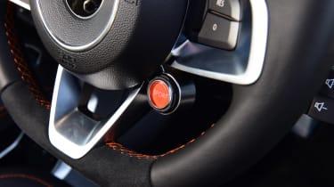Alpine A110 S - steering wheel detail
