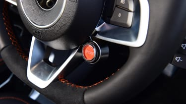 Alpine A110 S - steering wheel detail