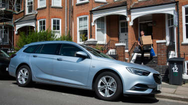 Vauxhall Insignia Sports Tourer - parked