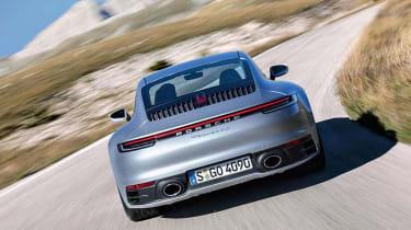 Porsche 911 - rear action