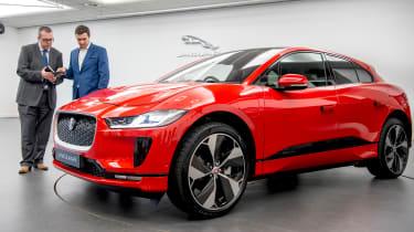 Jaguar I-Pace - studio John McIlroy