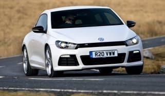 Volkswagen Scirocco R front cornering