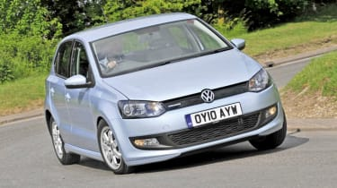 Volkswagen Polo BlueMotion - best low emissions green cars