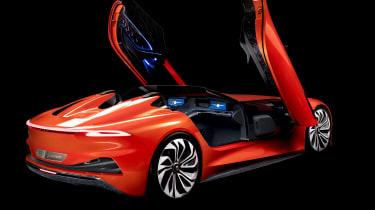 Karma SC1 Vision concept -rear doors open