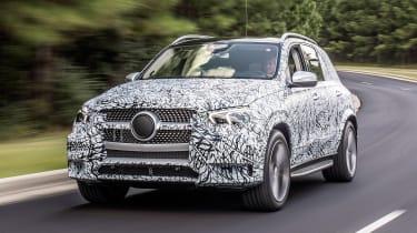 Mercedes GLE prototype - front