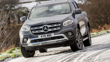 Mercedes X-Class review - static front