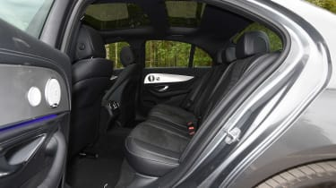 Mercedes E 350e - rear seats