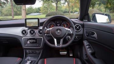 Mercedes CLA 45 AMG 2013 interior
