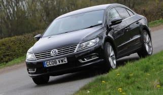 Volkswagen CC front cornering