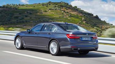 New BMW 7 Series 2015 rear