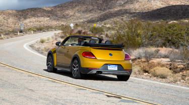 Volkswagen Beetle Dune Cabriolet - rear cornering 2