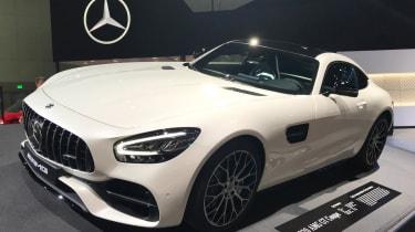 Mercedes-AMG GT - LA Motor Show - front
