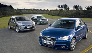 Audi A1 vs MINI Cooper vs Citroen DS3