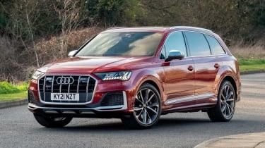 Audi SQ7 - front static