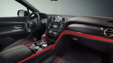 Bentley Bentayga V8 Design Series - interior