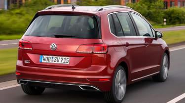 Volkswagen Golf SV 2018 rear side